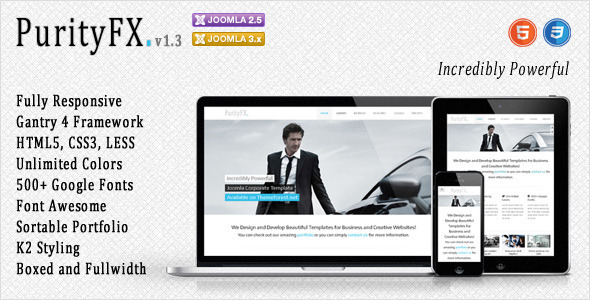 Joomla responsive theme, Joomla templates download free and premium ...