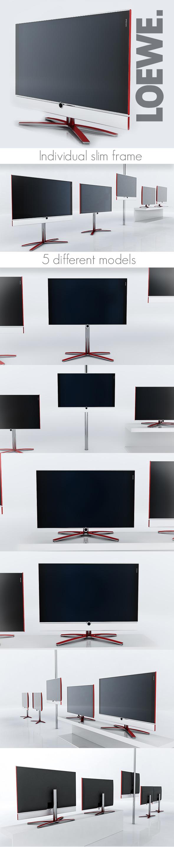 3DOcean Loewe Individual TV 6108785