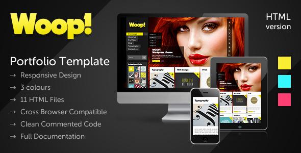 WOOP! - Responsive & Creative Portfolio