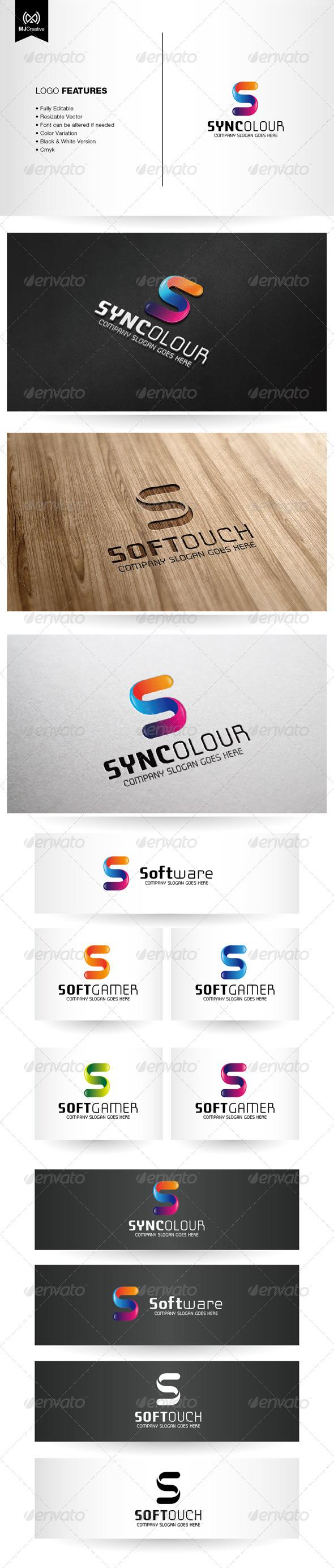 GraphicRiver Colorful Letter S Logo 6110618