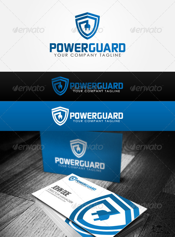 GraphicRiver Power Guard Logo 6111049