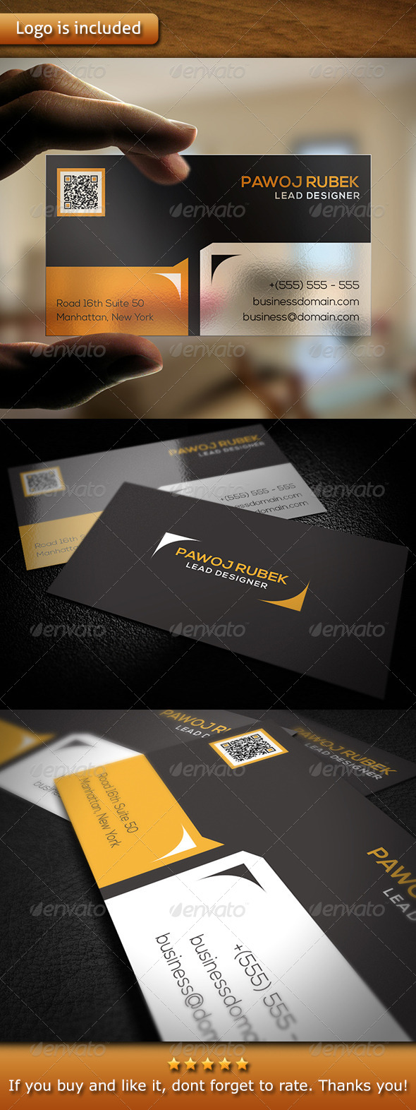 GraphicRiver Corporate Business Card v1 6111269