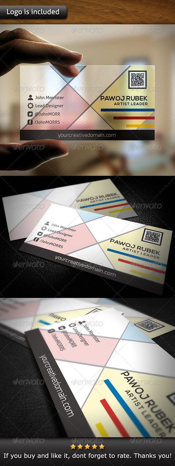 GraphicRiver Creative Business Card 6111323