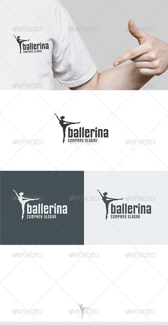 GraphicRiver Ballerina Logo 6111386