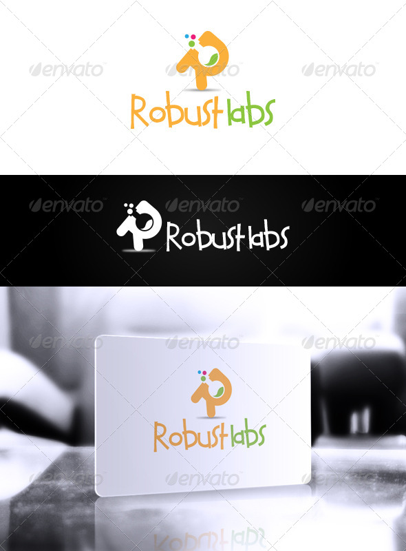 GraphicRiver Robust Labs Logo 6111454