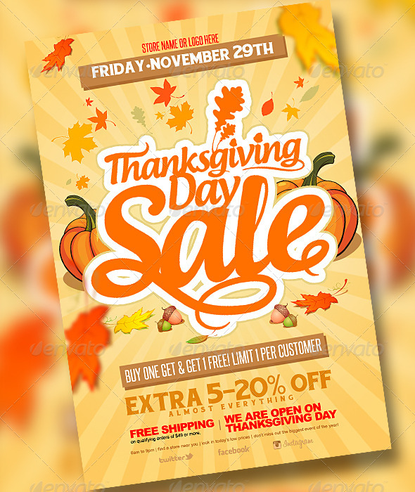 GraphicRiver Thanksgiving Sale 6071945