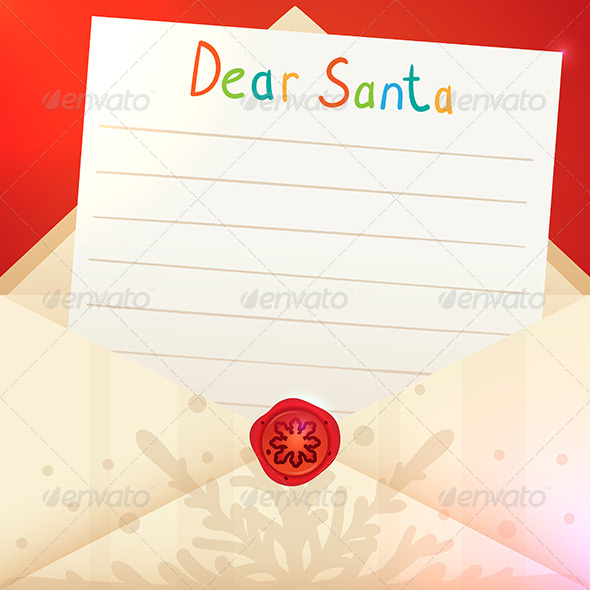 GraphicRiver Christmas Letter to Santa Claus 6112247