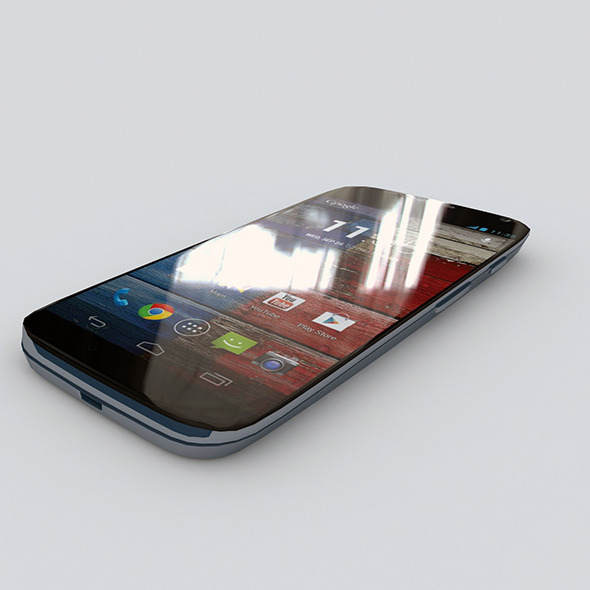 Motorola Moto X	 - 3DOcean Item for Sale