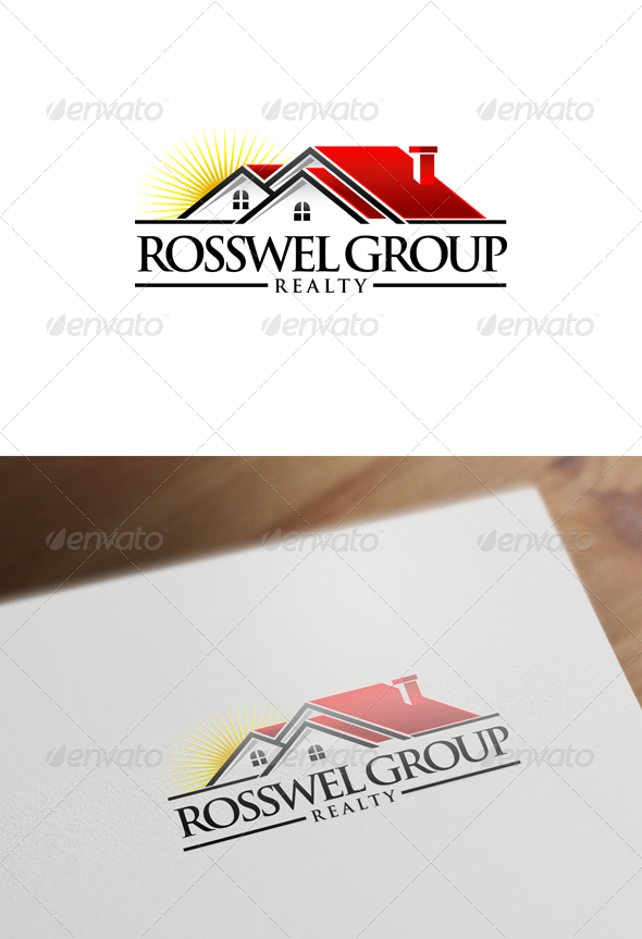 GraphicRiver Real Estate Logo Design 6112285