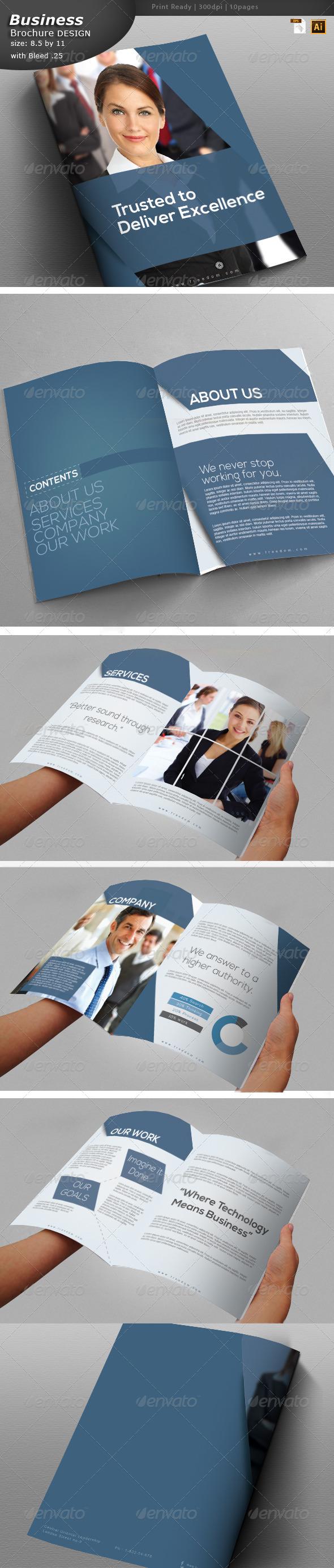 GraphicRiver Marketing Brochure Design 6112292
