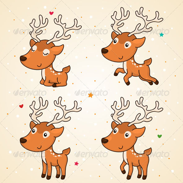 GraphicRiver Deer 6112362