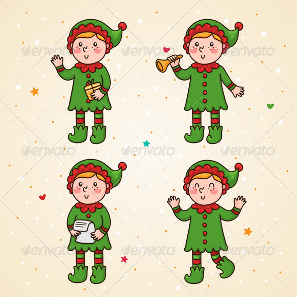 GraphicRiver Elf Set 6112375
