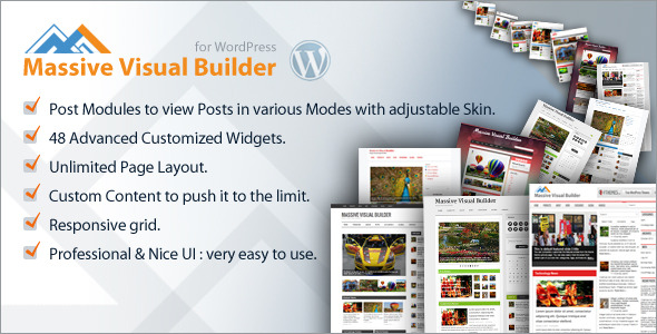 CodeCanyon Massive Visual Builder for WordPress 6098134
