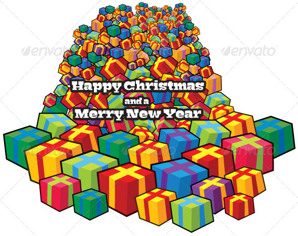 GraphicRiver Christmas Presents 6113751