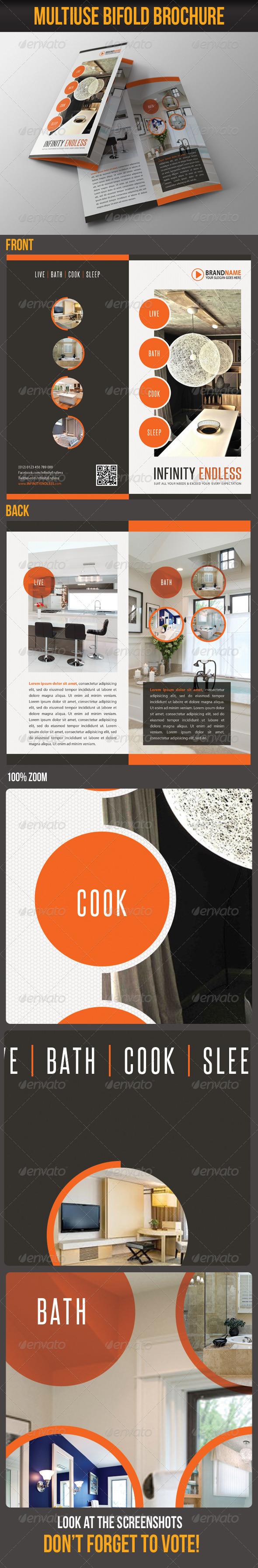 GraphicRiver Multiuse Bifold Brochure 23 6114039