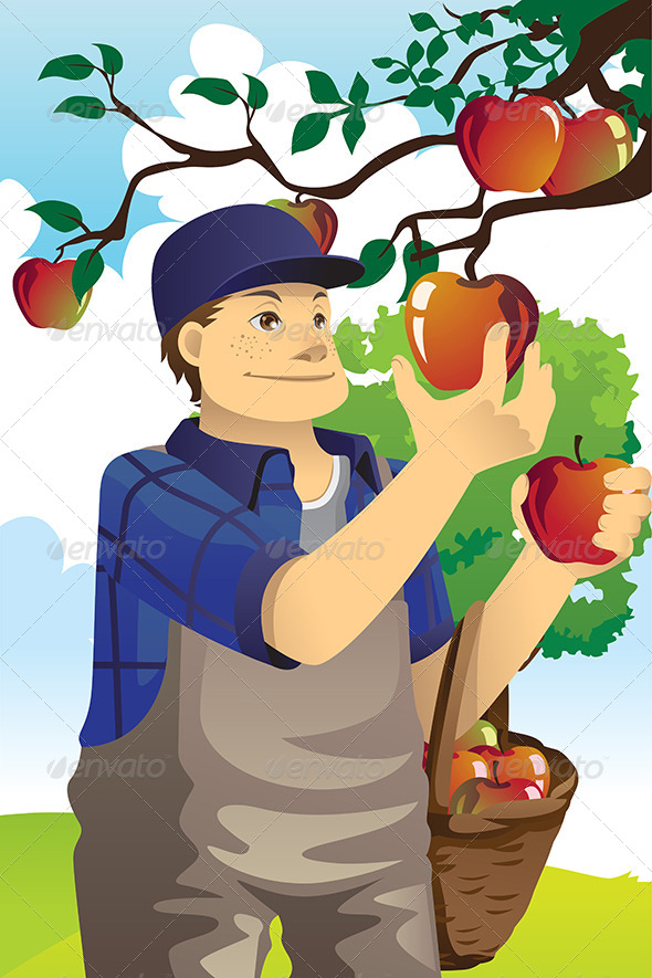 GraphicRiver Apple Farmer 6114509