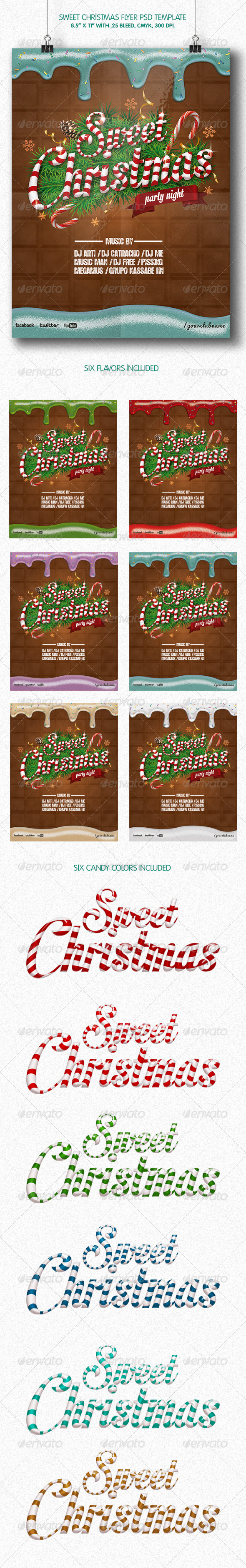 GraphicRiver Sweet Christmas Party 6114611