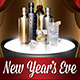 New Years Eve (Flyer Template 4x6) - GraphicRiver Item for Sale