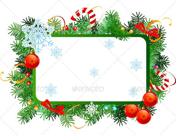 GraphicRiver Christmas Frame 6114745