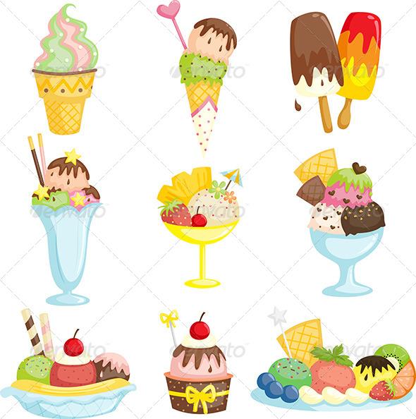 GraphicRiver Ice Cream 6114784