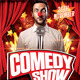 Comedy Show Flyer Template - GraphicRiver Item for Sale