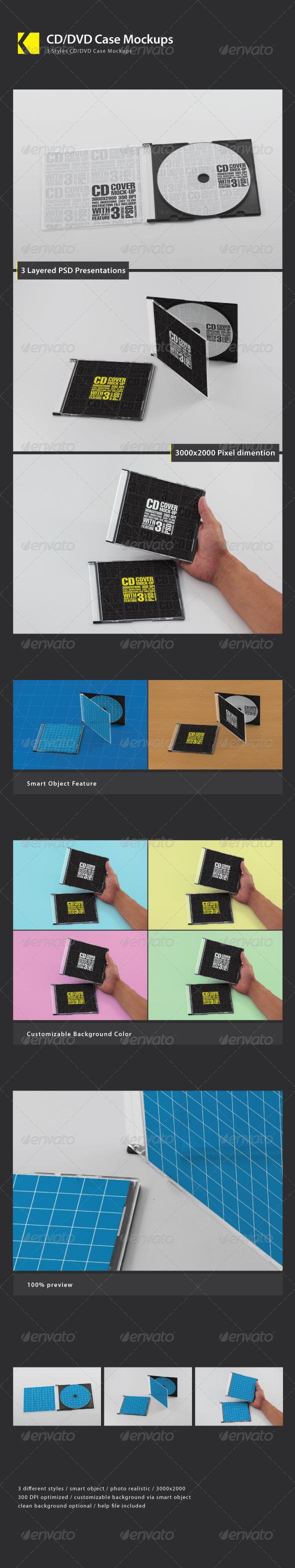 GraphicRiver CD DVD Case Mockup 6116320
