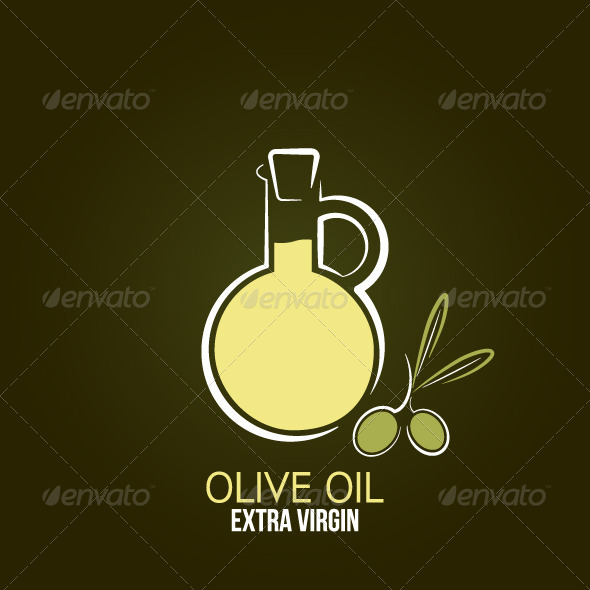 GraphicRiver Olive Oil Design Background 6117450