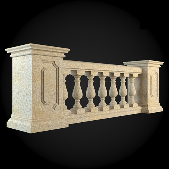 001_Baluster - 3DOcean Item for Sale