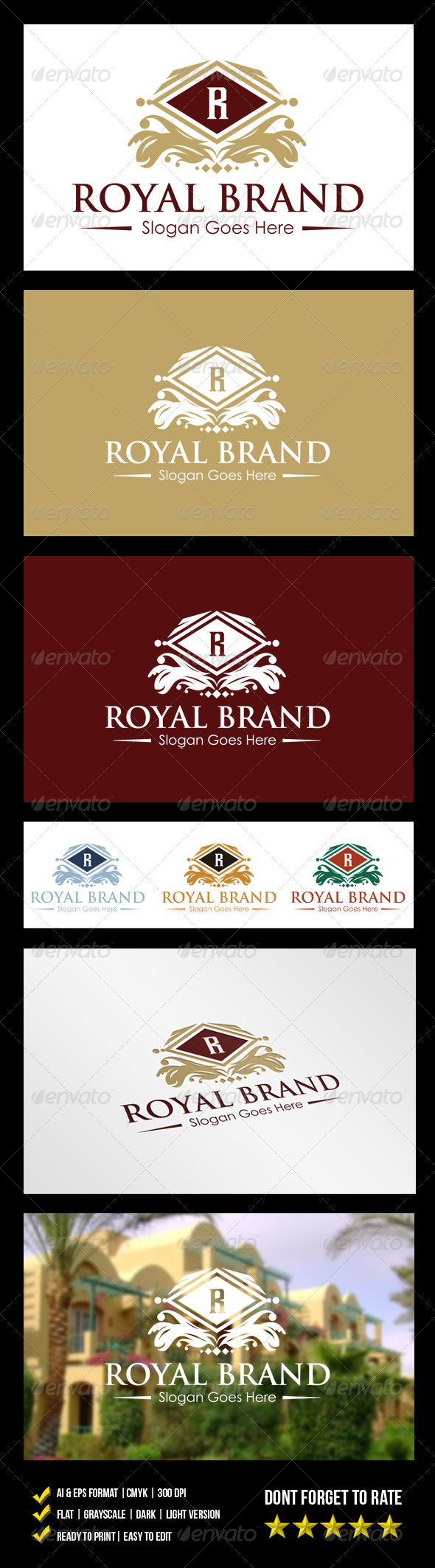 GraphicRiver Royal Brand Logo 6117845