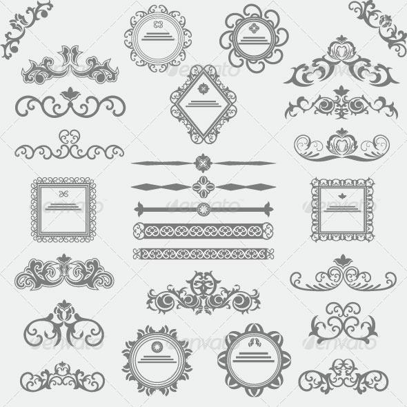 Vintage Design Elements 83