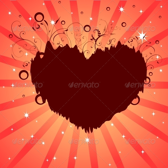 GraphicRiver Heart Dreams Background 6118132