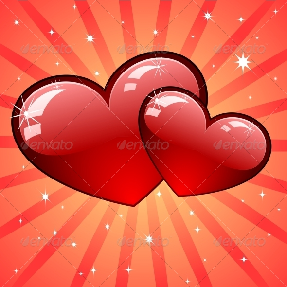 GraphicRiver Heart Background 6118134