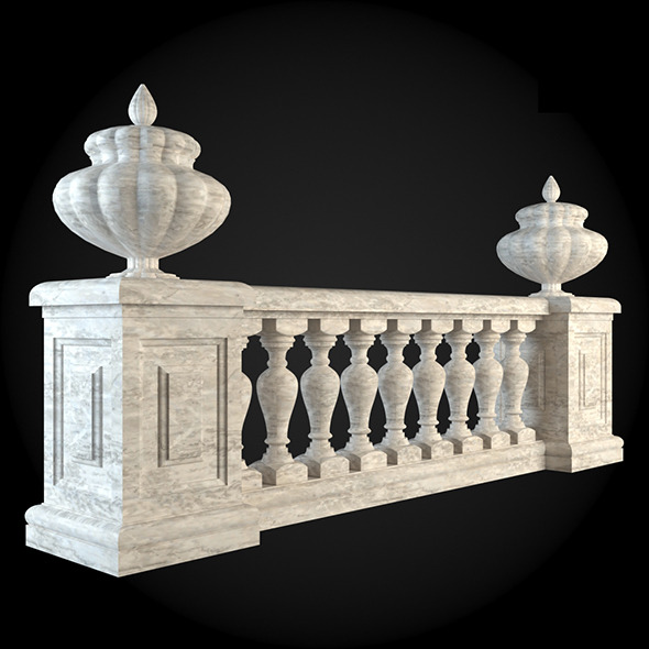 010_Baluster - 3DOcean Item for Sale
