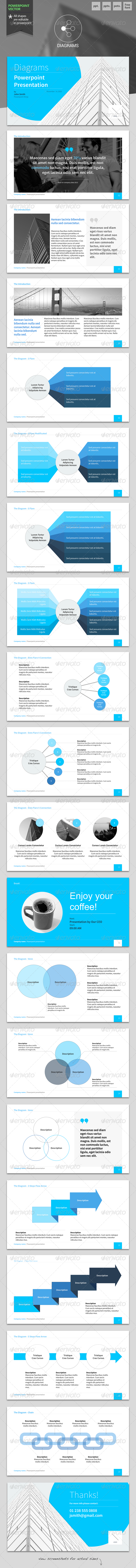 GraphicRiver Diagrams Powerpoint Template 6118326