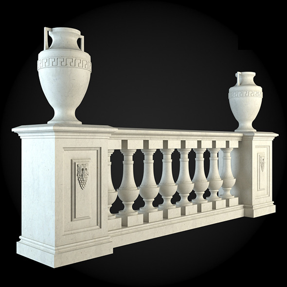 011_Baluster - 3DOcean Item for Sale
