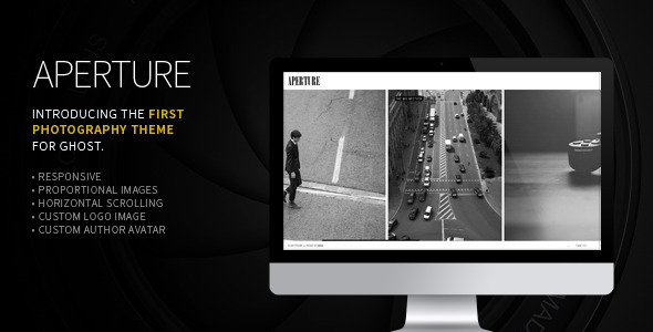 ThemeForest Aperture The First Photography Theme for Ghost 6103305