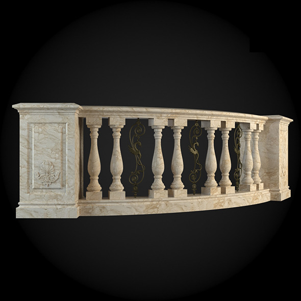 013_Baluster - 3DOcean Item for Sale