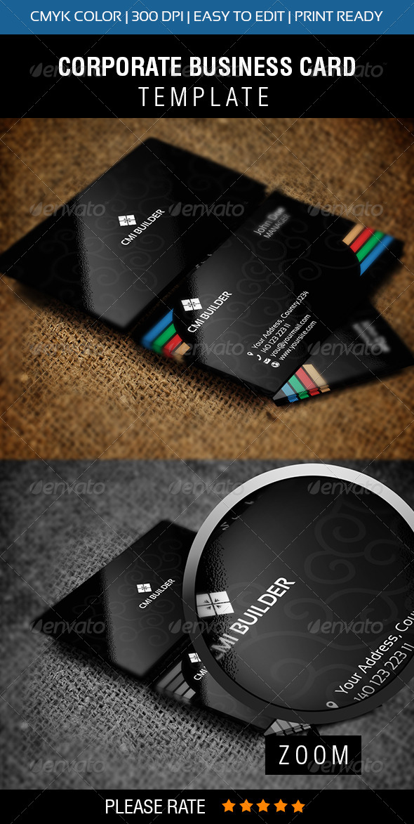 GraphicRiver CMI Builder Business Card 6047525