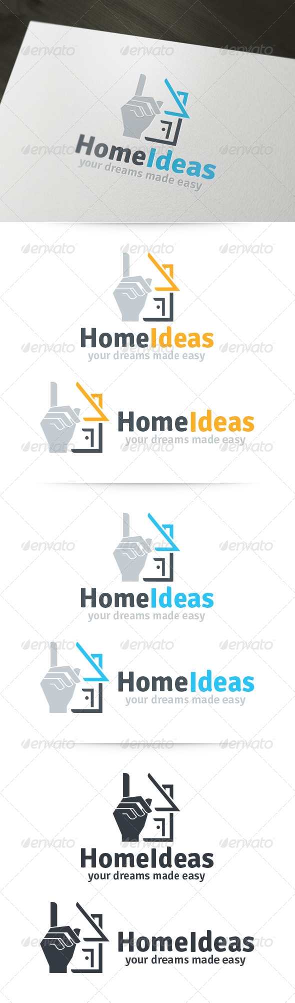 GraphicRiver Home Ideas Logo 6119247