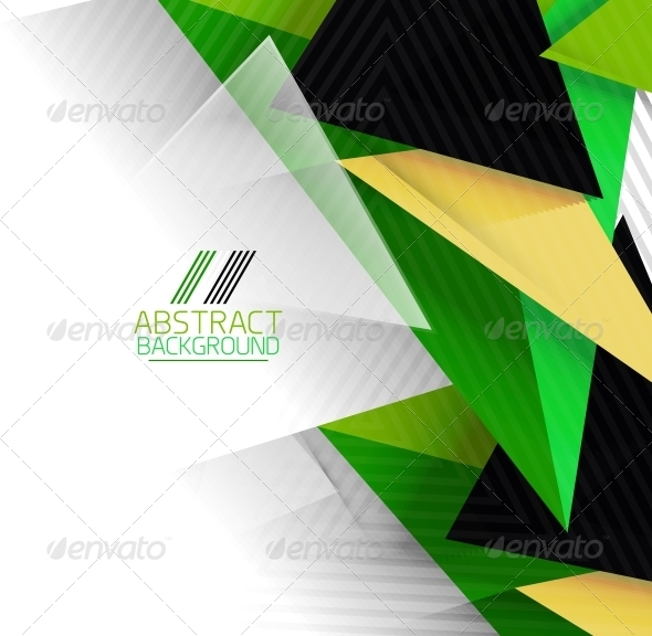GraphicRiver Abstract Geometric Shape Background 6119282