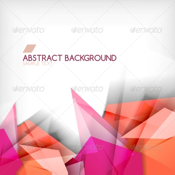 GraphicRiver Abstract Geometric Shape Background 6119286