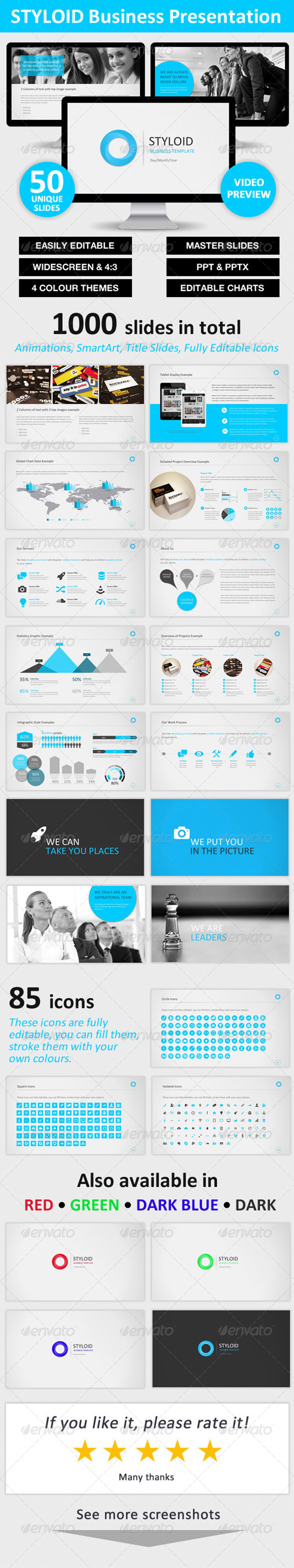 GraphicRiver STYLOID Business PowerPoint Template 6056990