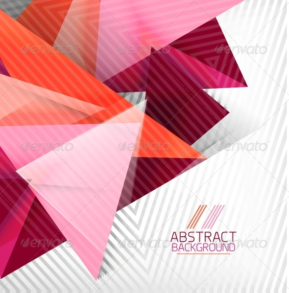 GraphicRiver Abstract Geometric Shape Background 6119296