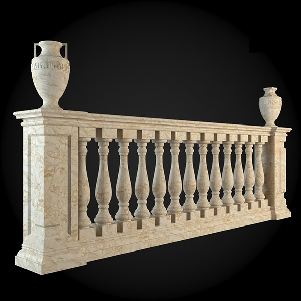 018_Baluster - 3DOcean Item for Sale