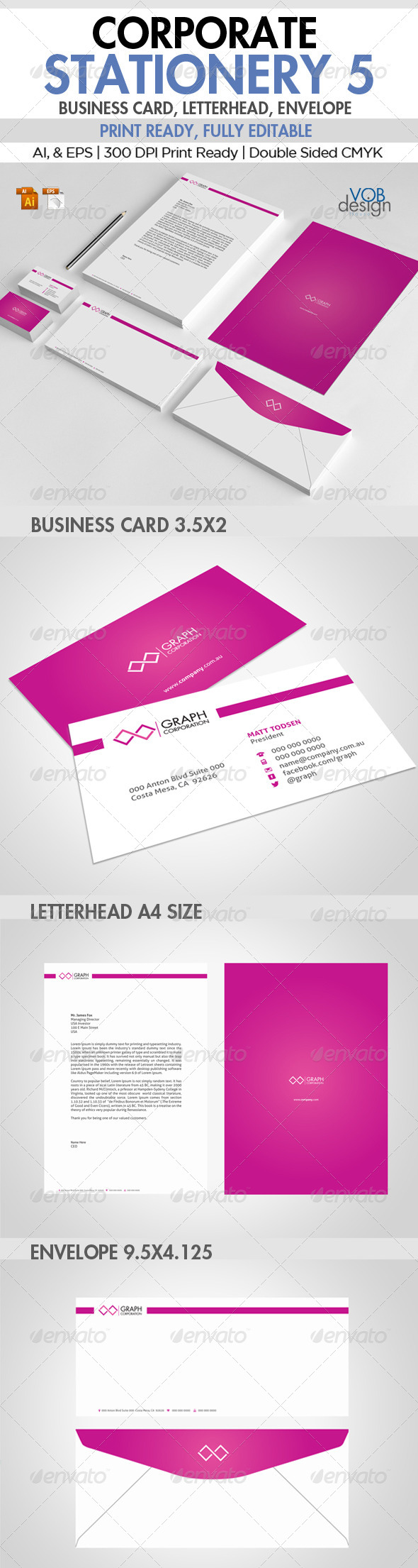 GraphicRiver Corporate Stationery 5 6119441