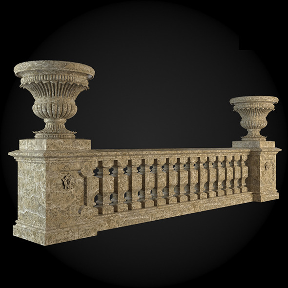 019_Baluster - 3DOcean Item for Sale