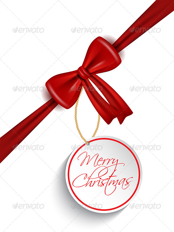 Christmas Tag Background