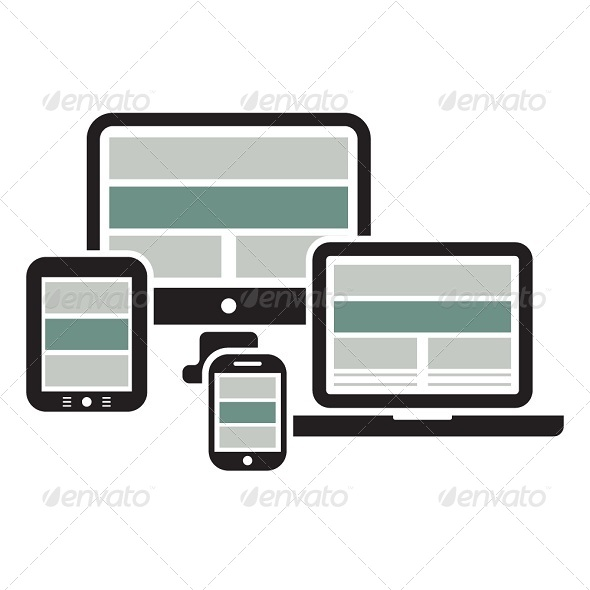 GraphicRiver Web Design on Devices 6119516