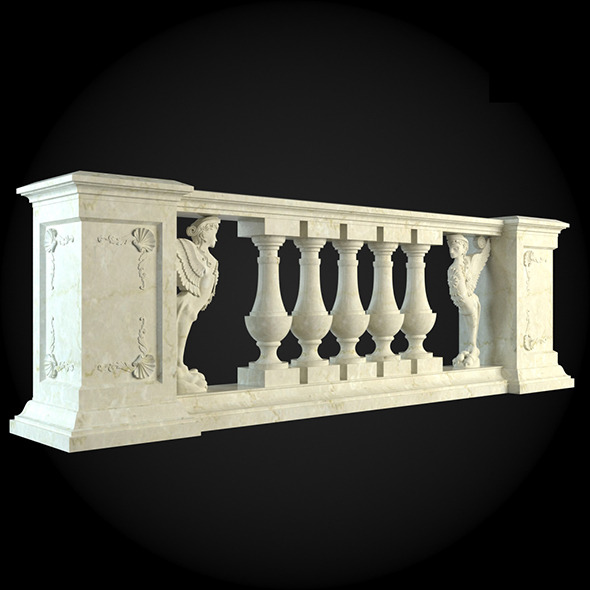 020_Baluster - 3DOcean Item for Sale