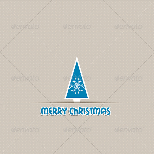 GraphicRiver Christmas Tree Background 6119549